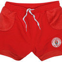 Biarritz 2014/15 Alternate Kids Match Day Rugby Shorts