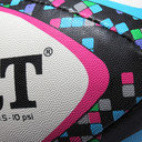 Zenon Ltd Edition Rugby Training Ball Colour Pixel