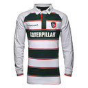 Leicester Tigers 2015/16 Home Classic L/S Rugby Shirt