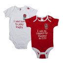 England RFU 2015/16 Infant Bodysuits 2 Pack