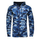 Storm Rival Full Zip Printed Fleece Hooded Sweat
