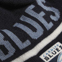 Cardiff Blues Striped Acrylic Rugby Bobble Hat