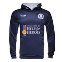 Help for Heroes Kids Scotland Rugby Hooded Sweat