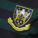 Northampton Saints 2015/16 Players Travel Stripe Rugby Polo Shirt