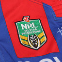Newcastle Knights 2016 Home NRL Kids S/S Replica Rugby Shirt