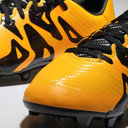 X 15.3 FG/AG Kids Football Boots