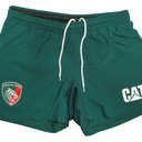 Leicester Tigers 2015/16 Home Players Rugby Shorts
