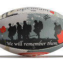 Remembrance Day Midi Rugby Training Ball