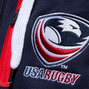 USA Eagles 2016 Full Zip Hooded Rugby Sweat