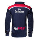 USA Eagles 2016 Full Zip Travel Rugby Jacket