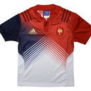 France 2016/17 Alternate Kids S/S Replica Rugby Shirt