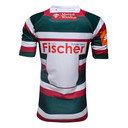 Leicester Tigers 2016/17 Kids Home S/S Replica Rugby Shirt