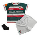 Leicester Tigers 2016/17 Home Infants Replica Rugby Kit