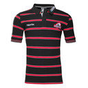 Edinburgh 2016/17 Striped Cotton Rugby Polo Shirt