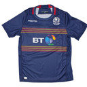 Scotland 7s 2016/17 Home Kids S/S Replica Rugby Shirt