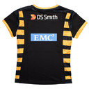 Wasps 2016/17 Home Ladies S/S Replica Rugby Shirt