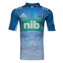 Blues 2016/17 Alternate Super Rugby S/S Rugby Shirt