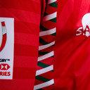 Kenya 7s 2016/17 Home Kids S/S Replica Rugby Shirt