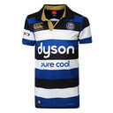 Bath 2016/17 Home Kids S/S Pro Rugby Shirt