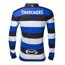 Bath 2016/17 Home L/S Classic Rugby Shirt