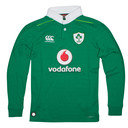 Ireland IRFU 2016/17 Ladies Home Classic L/S Rugby Shirt