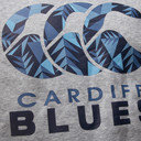 Cardiff Blues 2016/17 Kids Hooded Rugby Sweat