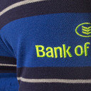 Leinster 2016/17 Players Striped Rugby Polo Shirt