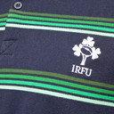 Ireland IRFU 2016/17 Stripe Rugby Polo Shirt