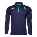 Ireland IRFU 2016/17 Players 1/4 Zip First Layer Rugby Training Top