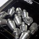 Ace/X TRX 14mm + 11mm Aluminium Studs - 12 Pack Silver