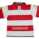 Gloucester 2016/17 Home Infant S/S Replica Rugby Shirt