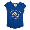 Leicester Tigers 2015/16 Ladies V Neck Rugby T-Shirt