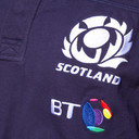 Scotland 2016/17 Home Cotton L/S Replica Rugby Shirt