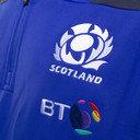 Scotland 2016/17 1/4 Zip L/S Microfleece Rugby Top