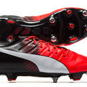 evoPOWER 1.3 Mixed Sole SG Football Boots