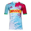 Harlequins 2016/17 Kids Alternate S/S Replica Rugby Shirt