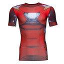 Iron Man Transform Yourself Compression S/S T-Shirt