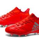 X 16.1 FG/AG Leather Football Boots
