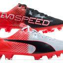 evoSPEED 1.5 FG Kids Football Boots