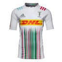 Harlequins 2015/16 Alternate S/S Player Authentic Rugby Shirt
