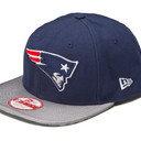 NFL New England Patriots 9FIFTY Sideline Snapback Cap