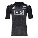 New Zealand Maori All Blacks 2016 Kids S/S Rugby Shirt