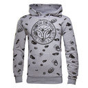 Iro Graphic Hooded Rugby Sweat