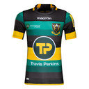 Northampton Saints 2016/17 Home S/S Authentic Test Rugby Shirt