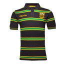 Northampton Saints 2016/17 Cotton Stripe Rugby Polo Shirt