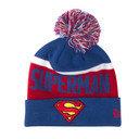 Superman Team Kids Bobble Knit Hat
