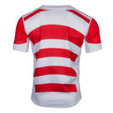 Japan 2017/18 Home Pro S/S Rugby Shirt