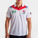 Newcastle Knights 2020 NRL Players Rugby Polo Shirt