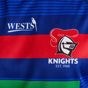 Newcastle Knights 2020 NRL Players Rugby Training T-Shirt