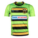 Northampton Saints 2017/18 Alternate Kids S/S Replica Rugby Shirt